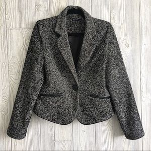 Mario Serrani Medium Blazer Wool Blend